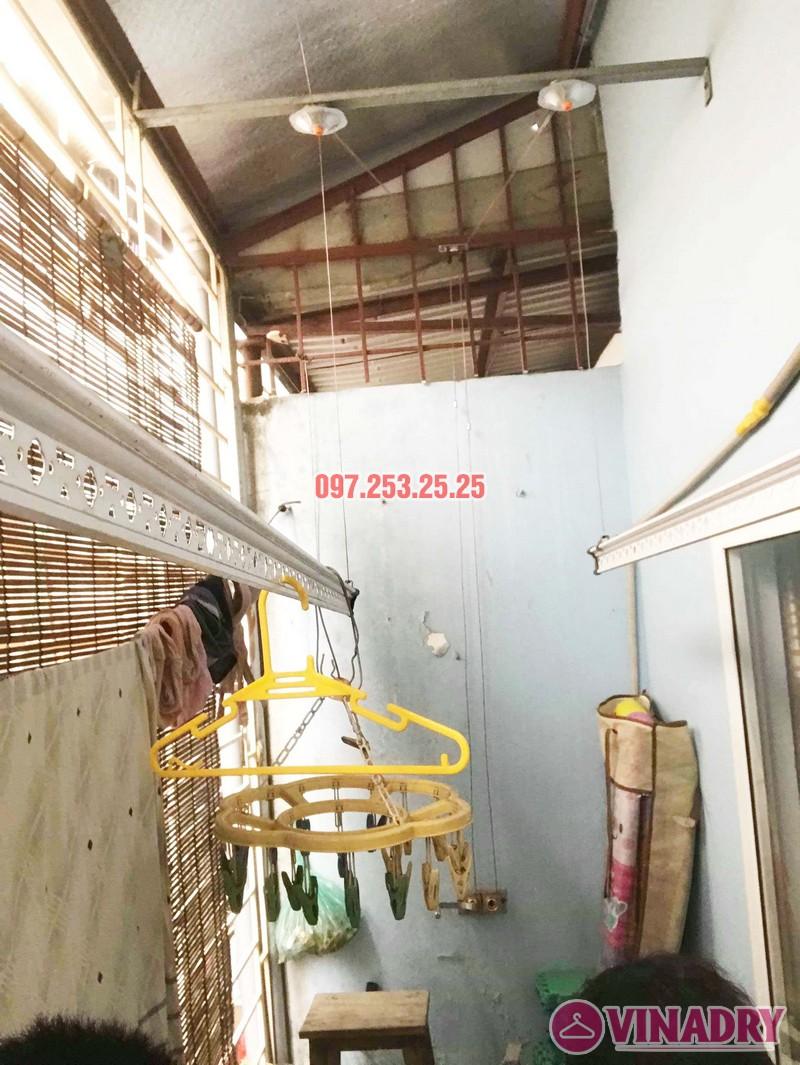 Sửa giàn phơi quần áo thông minh nhà chị Hải, Đại La, Hai Bà Trưng, Hà Nội - 05