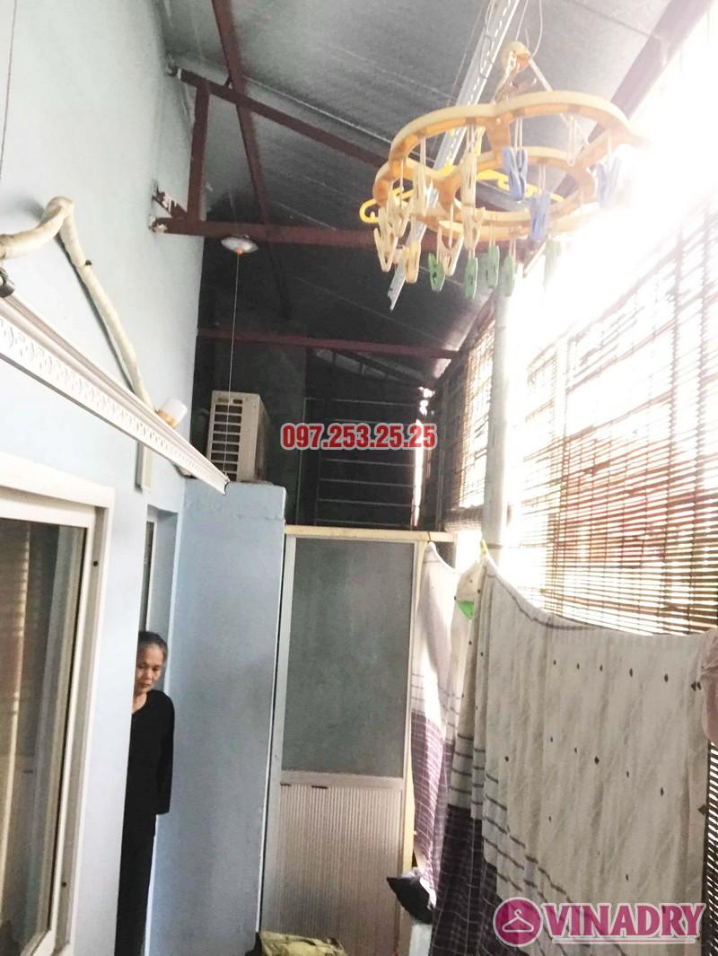 Sửa giàn phơi quần áo thông minh nhà chị Hải, Đại La, Hai Bà Trưng, Hà Nội - 06