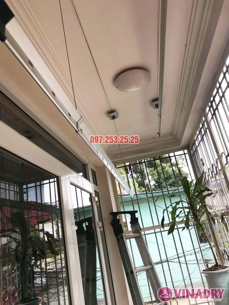 Sửa giàn phơi thông minh tại Đống Đa, nhà chị Hoan, chung cư C7 Hoàng Ngọc Phách - 01