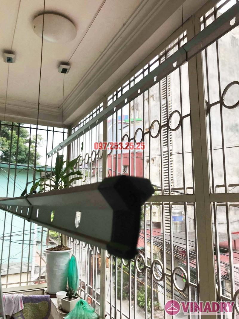 Sửa giàn phơi thông minh tại Đống Đa, nhà chị Hoan, chung cư C7 Hoàng Ngọc Phách - 02