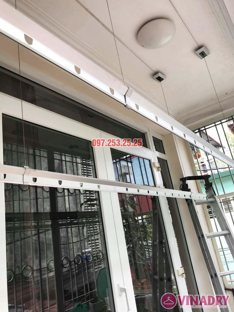 Sửa giàn phơi thông minh tại Đống Đa, nhà chị Hoan, chung cư C7 Hoàng Ngọc Phách - 03