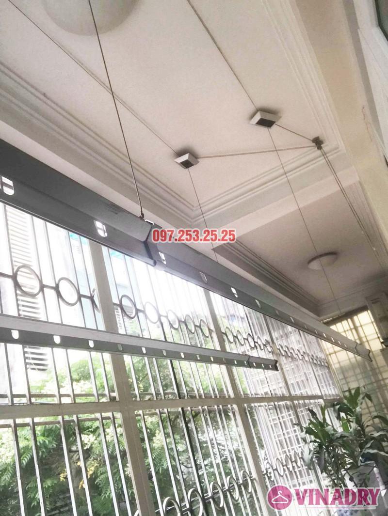Sửa giàn phơi thông minh tại Đống Đa, nhà chị Hoan, chung cư C7 Hoàng Ngọc Phách - 04