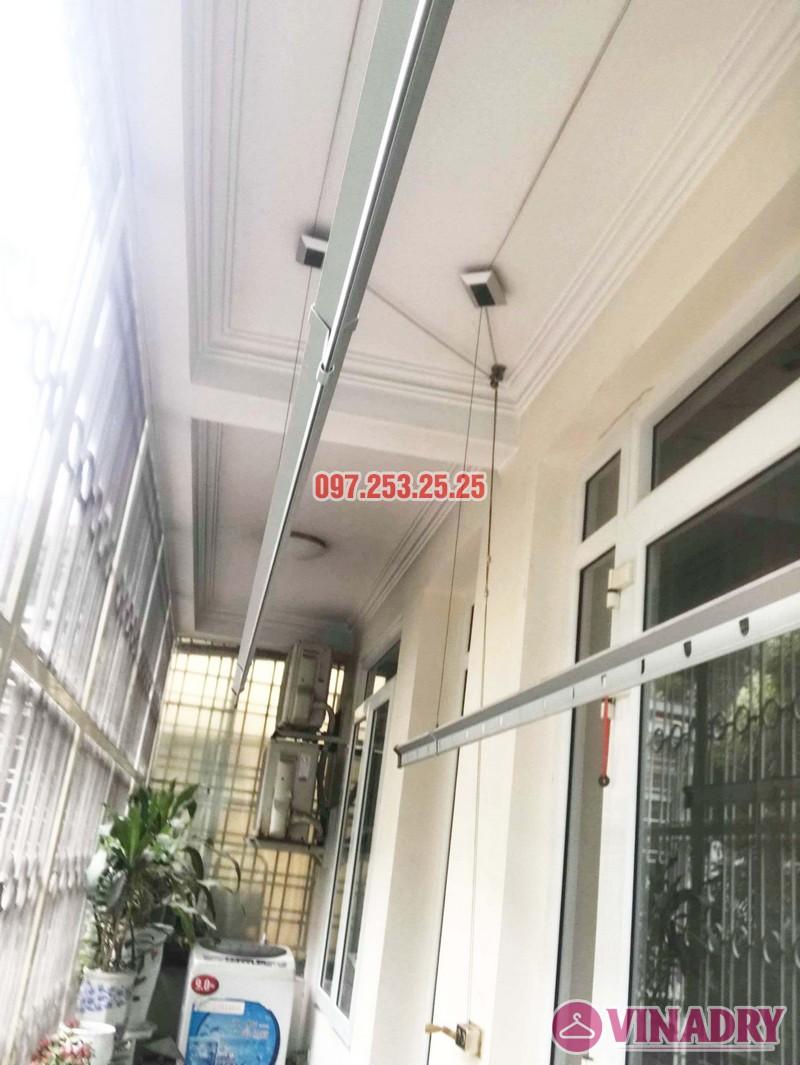 Sửa giàn phơi thông minh tại Đống Đa, nhà chị Hoan, chung cư C7 Hoàng Ngọc Phách - 05