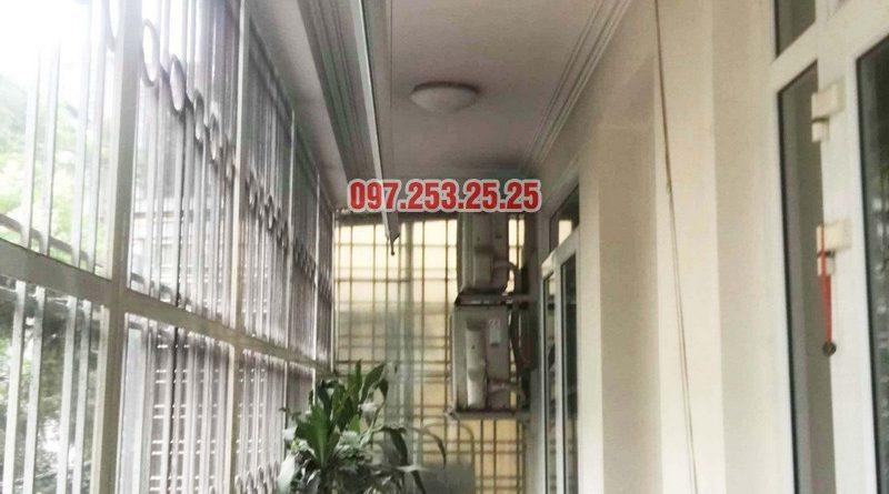 Sửa giàn phơi thông minh tại Đống Đa, nhà chị Hoan, chung cư C7 Hoàng Ngọc Phách - 06