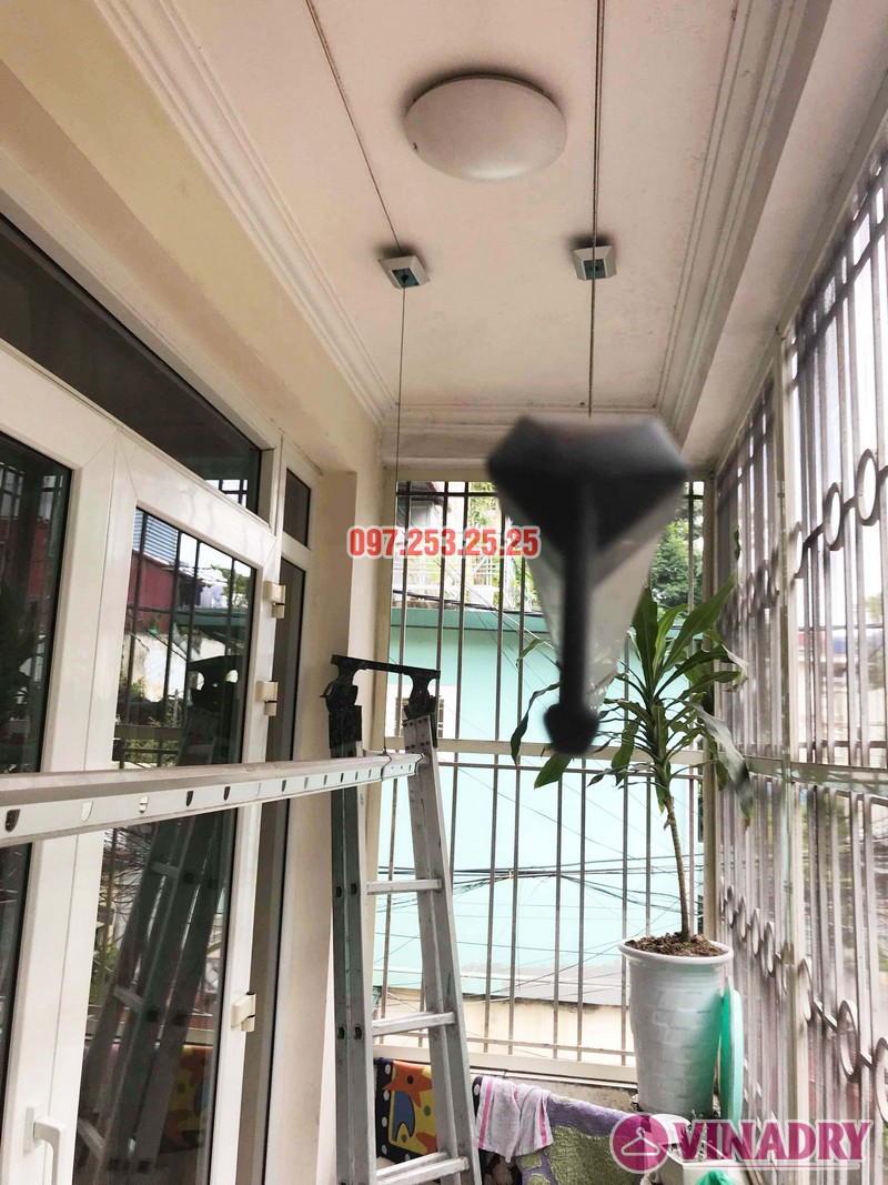 Sửa giàn phơi thông minh tại Đống Đa, nhà chị Hoan, chung cư C7 Hoàng Ngọc Phách - 07