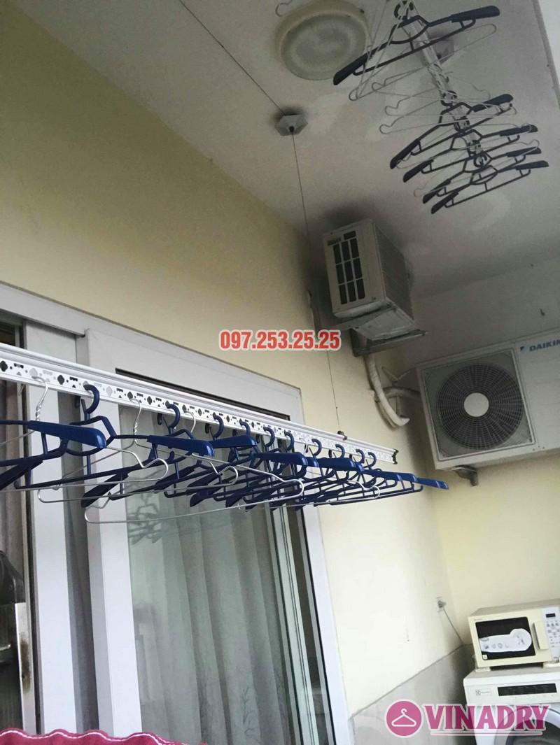 Sửa giàn phơi quần áo thông minh nhà chị Trang, Căn 504, Tòa CT1B Nam Đô Complex - 01