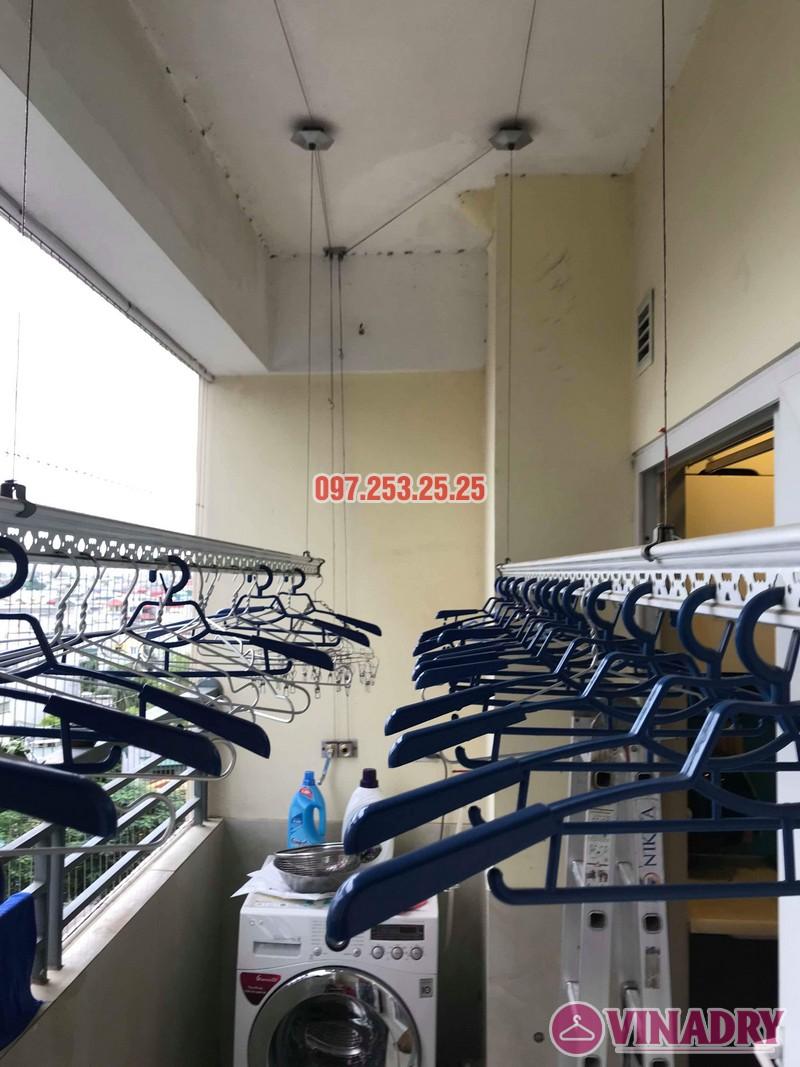 Sửa giàn phơi quần áo thông minh nhà chị Trang, Căn 504, Tòa CT1B Nam Đô Complex - 02