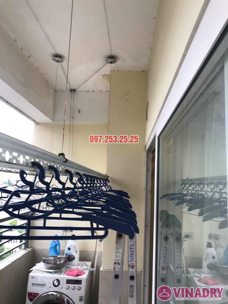 Sửa giàn phơi quần áo thông minh nhà chị Trang, Căn 504, Tòa CT1B Nam Đô Complex - 03
