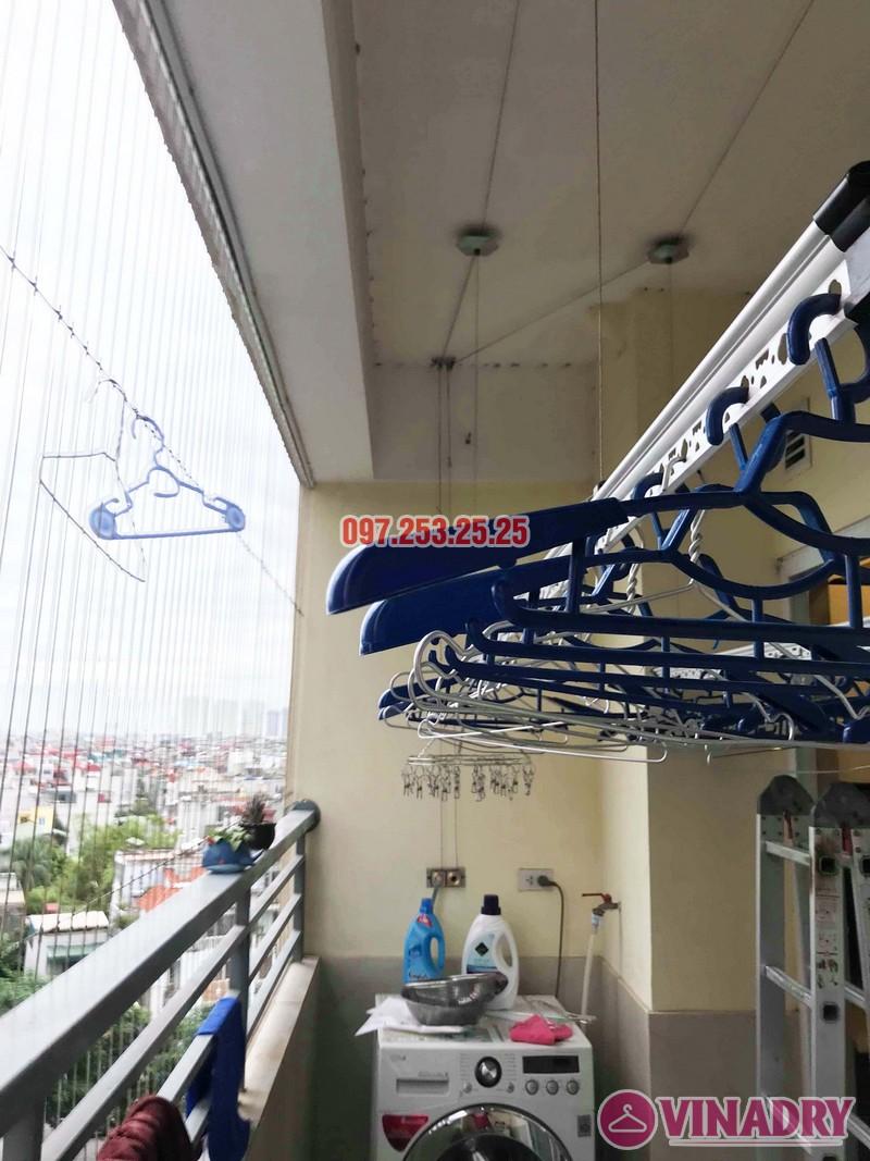 Sửa giàn phơi quần áo thông minh nhà chị Trang, Căn 504, Tòa CT1B Nam Đô Complex - 04