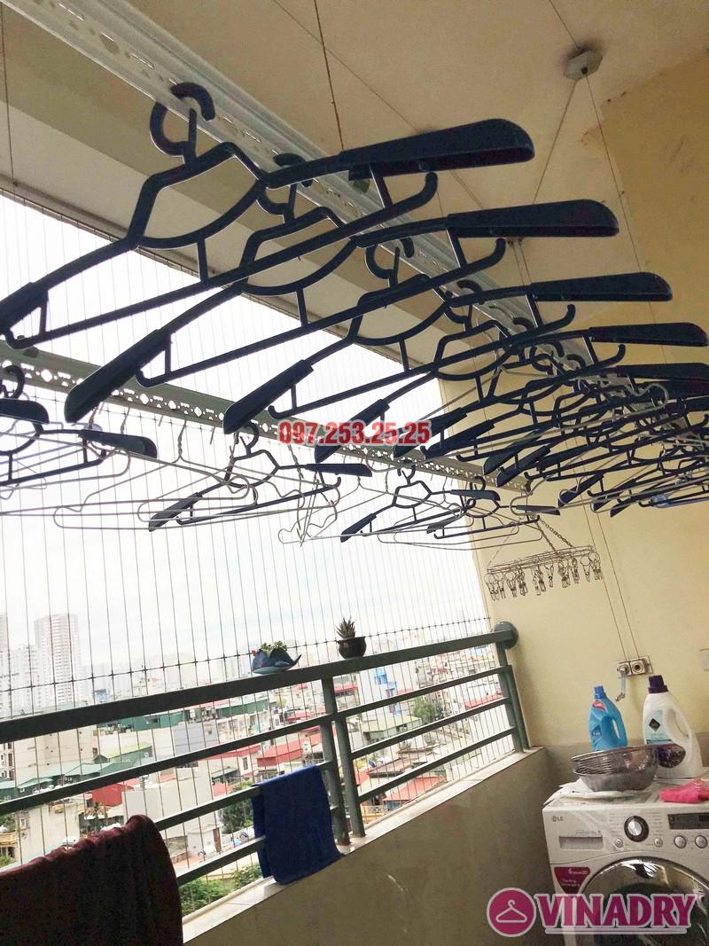 Sửa giàn phơi quần áo thông minh nhà chị Trang, Căn 504, Tòa CT1B Nam Đô Complex - 05