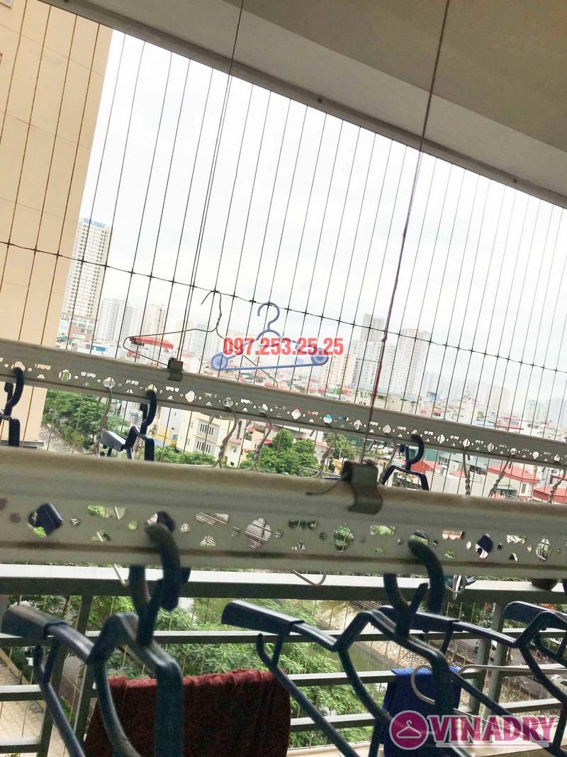 Sửa giàn phơi quần áo thông minh nhà chị Trang, Căn 504, Tòa CT1B Nam Đô Complex - 06