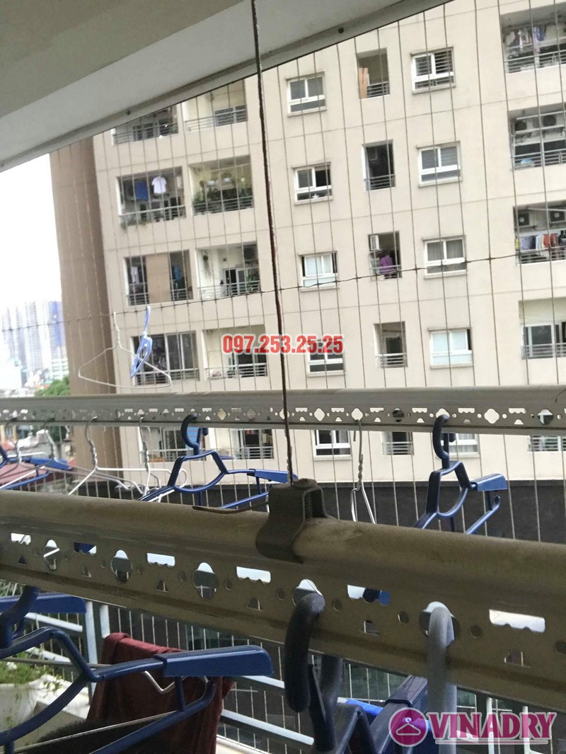 Sửa giàn phơi quần áo thông minh nhà chị Trang, Căn 504, Tòa CT1B Nam Đô Complex - 07