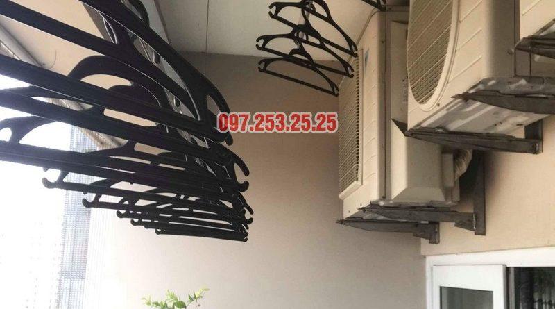 Thay dây cáp giàn phơi giá rẻ tại Hà Nội nhà chị Thơm, Tòa 24T, Hapulico Complex - 05
