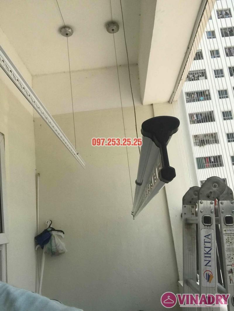 Sửa chữa giàn phơi, thay linh kiện giá rẻ nhà chị My, chung cư HH4C Linh Đàm - 04