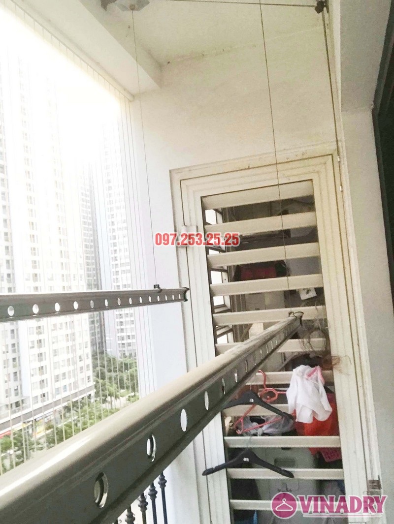 Sửa giàn phơi tại Hà Nội giá rẻ nhà chị Ngoan, Park 1, Park Hill Times City - 03