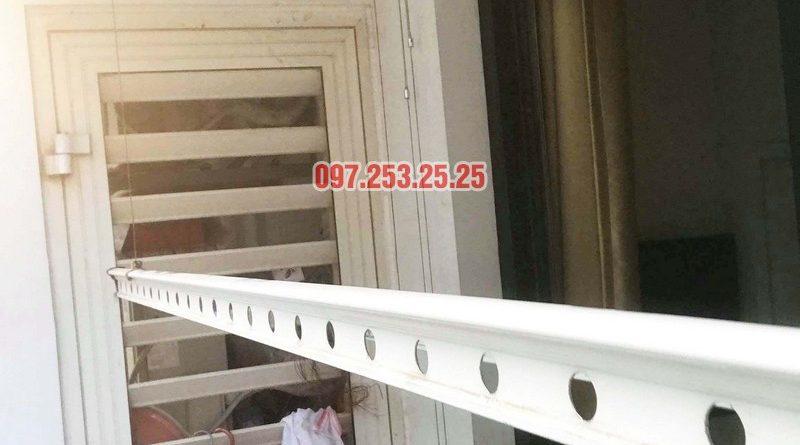 Sửa giàn phơi tại Hà Nội giá rẻ nhà chị Ngoan, Park 1, Park Hill Times City - 04