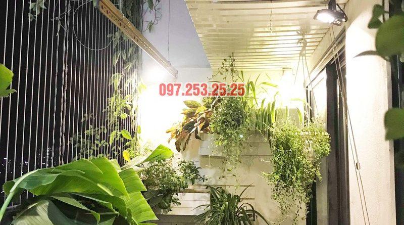 Sửa thay cáp giàn phơi thông minh nhà chị Ngân, chung cư Hateco Hoàng Mai - 06