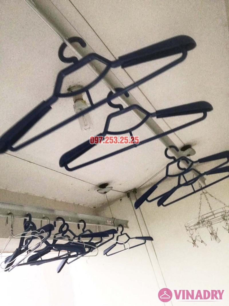 Thay bộ tời giàn phơi quần áo nhà anh Dũng, KĐT Sài Đồng, Long Biên - 03