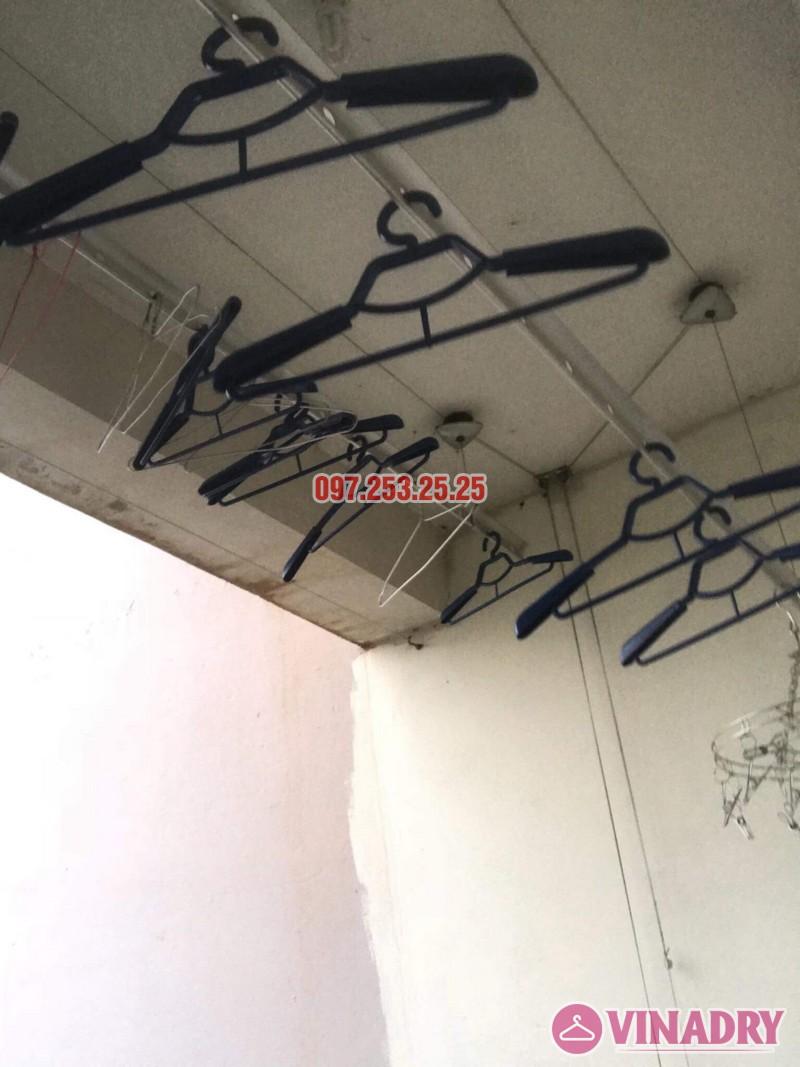 Thay bộ tời giàn phơi quần áo nhà anh Dũng, KĐT Sài Đồng, Long Biên - 06