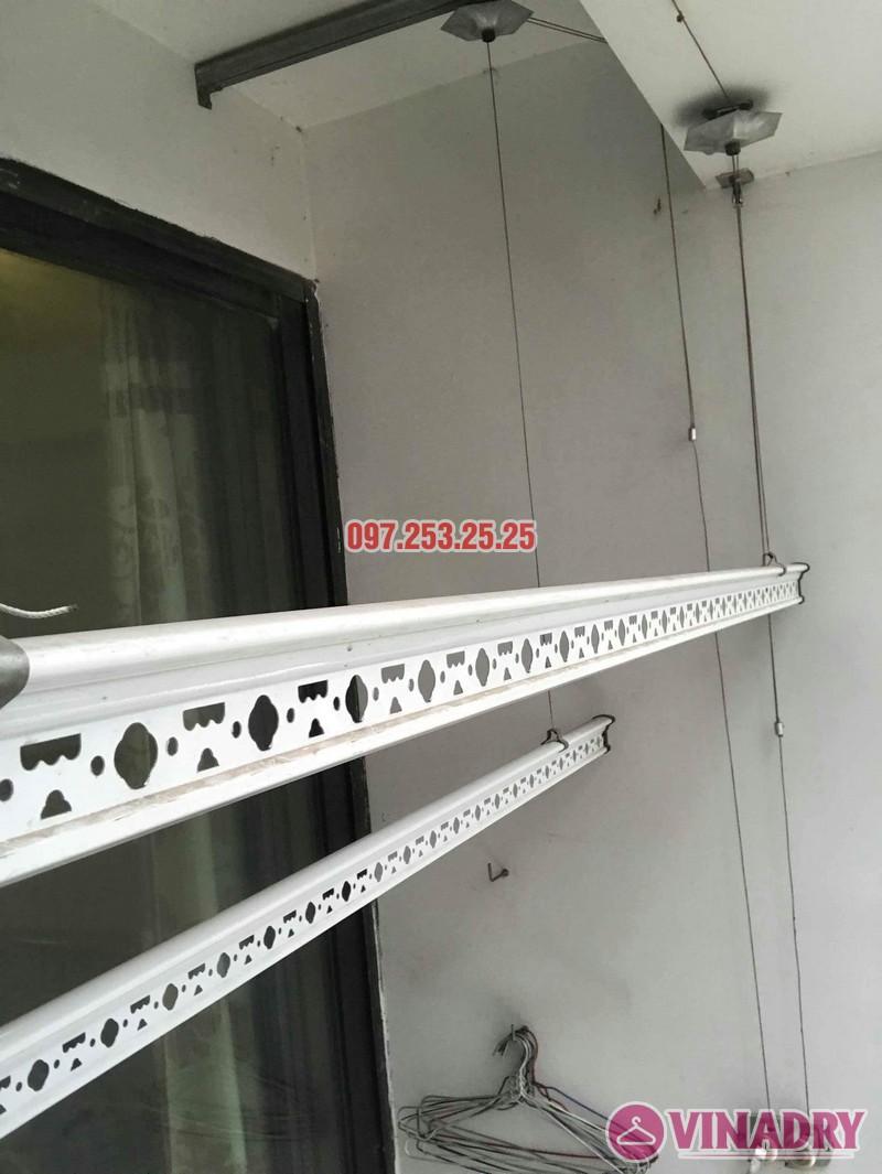 Sửa giàn phơi quần áo tại Hà Nội nhà chị Minh, tòa T11 Times City - 01