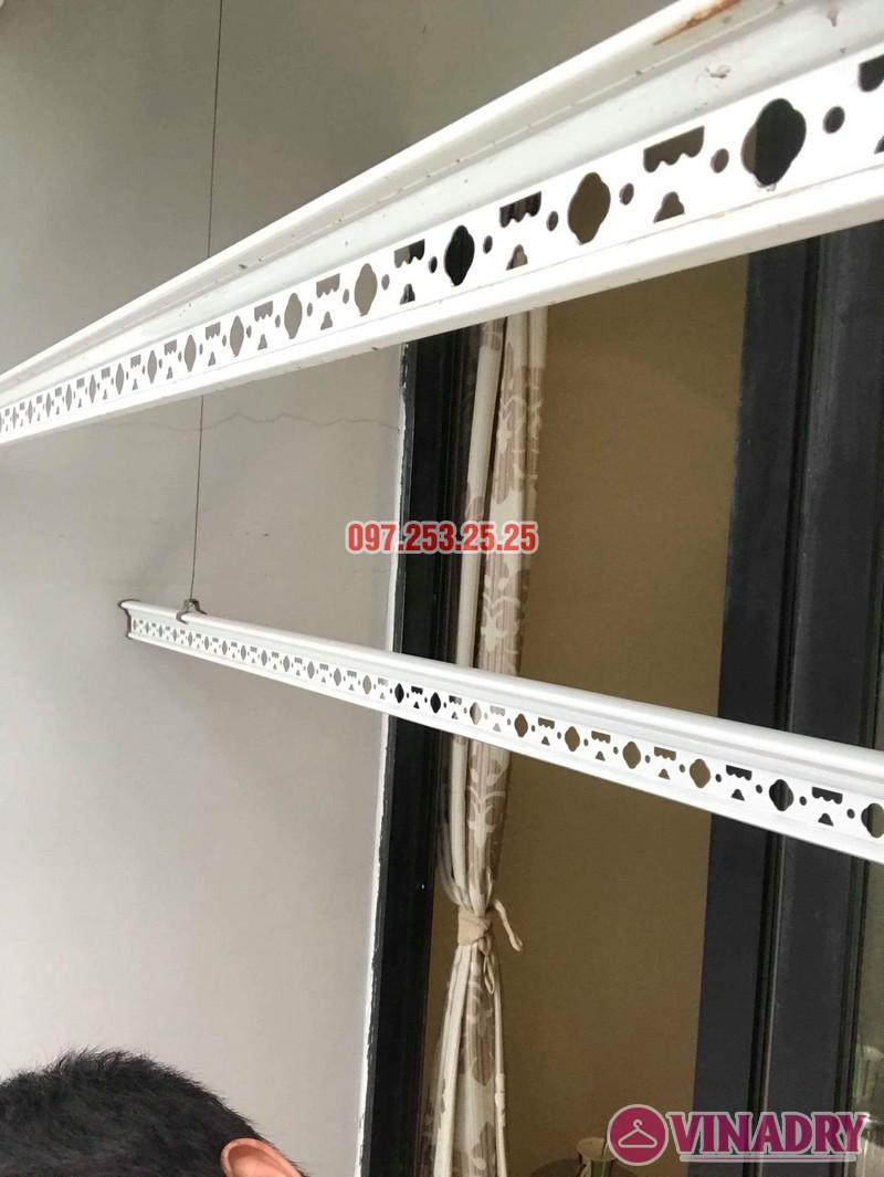 Sửa giàn phơi quần áo tại Hà Nội nhà chị Minh, tòa T11 Times City - 06