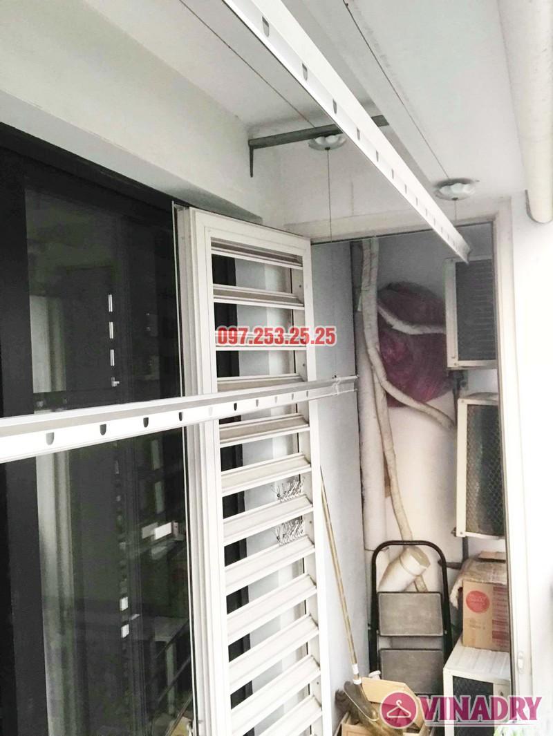 Sửa chữa giàn phơi thông minh tại Hà Nội nhà cô Tú, Tòa T4, Times City - 01