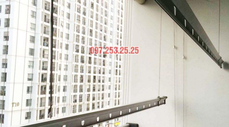 Sửa chữa giàn phơi thông minh tại Hà Nội nhà cô Tú, Tòa T4, Times City - 03