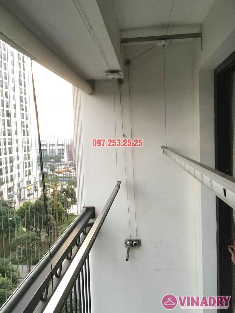 Sửa chữa giàn phơi thông minh tại Hà Nội nhà cô Tú, Tòa T4, Times City - 04