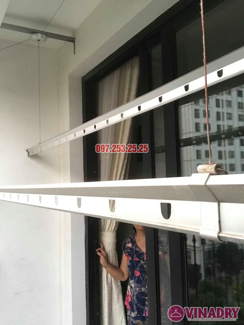 Sửa chữa giàn phơi thông minh tại Hà Nội nhà cô Tú, Tòa T4, Times City - 06