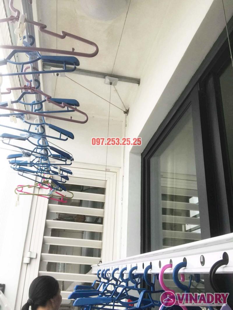 Sửa giàn phơi thông minh giá rẻ tại Hà Nội nhà chị Mai, Tòa T8, Times City - 03