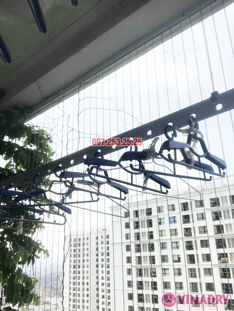 Sửa giàn phơi thông minh giá rẻ tại Hà Nội nhà chị Mai, Tòa T8, Times City - 05