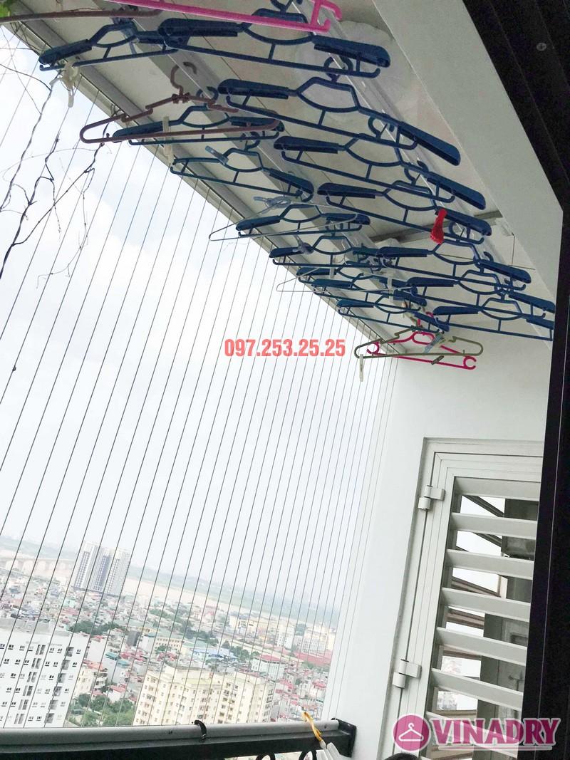 Sửa giàn phơi thông minh giá rẻ tại Hà Nội nhà chị Mai, Tòa T8, Times City - 06