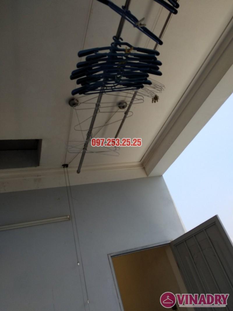 Sửa giàn phơi tại Nam Từ Liêm, Hà Nội nhà chị Nga, số 246/38/34 Phương Canh - 02