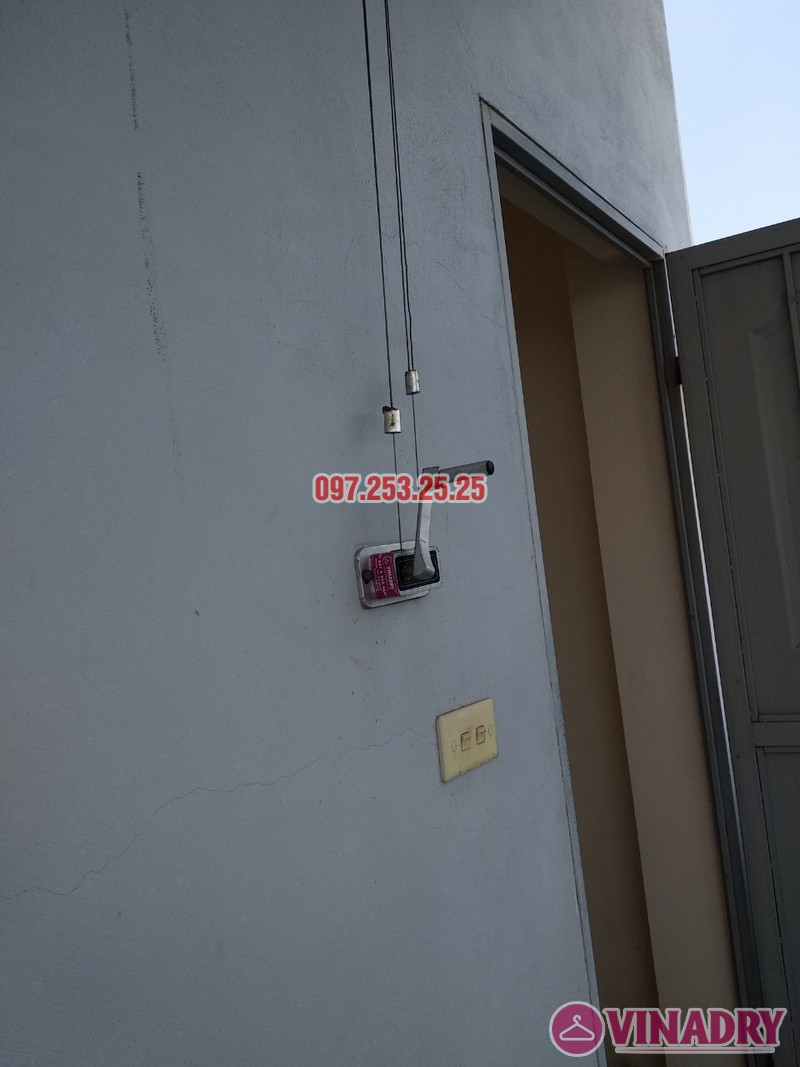 Sửa giàn phơi tại Nam Từ Liêm, Hà Nội nhà chị Nga, số 246/38/34 Phương Canh - 04