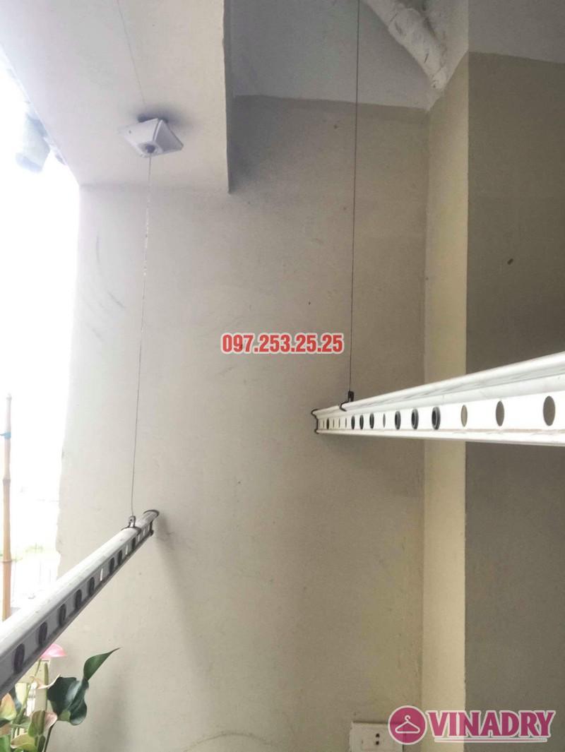 Sửa giàn phơi thông minh Thanh Trì nhà chị Huyền, chung cư CT10 Đại Thanh - 01