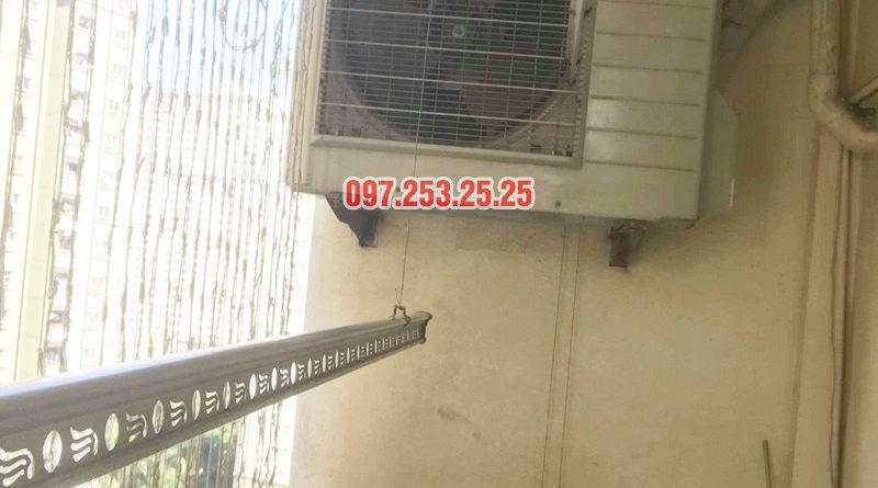 Sửa giàn phơi thông minh Hà Đông nhà chị Huệ, CT8A, KĐT Đại Thanh - 03
