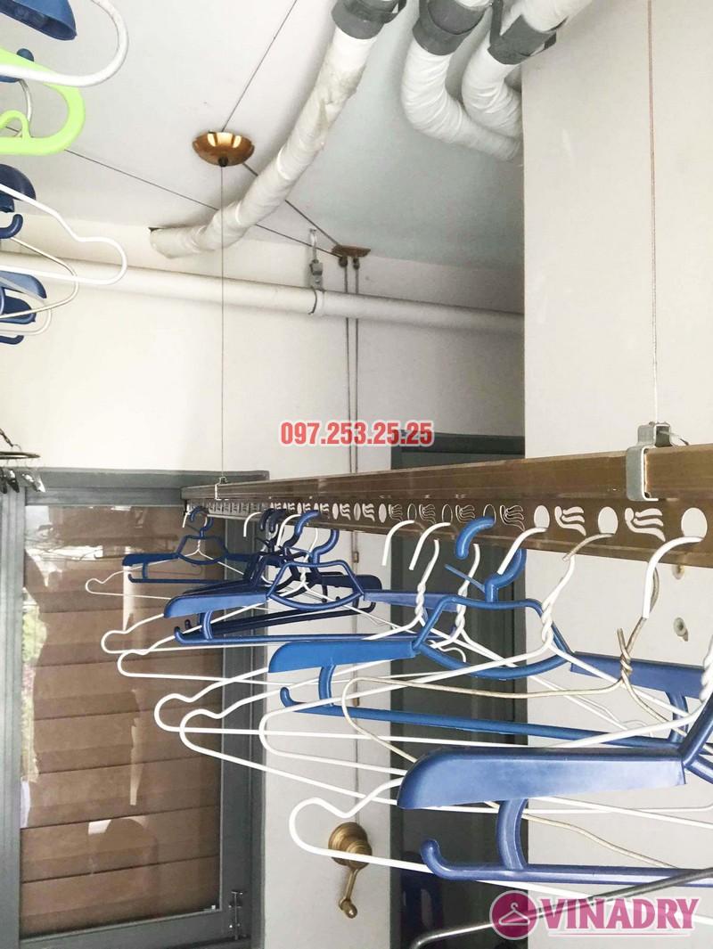 Sửa giàn phơi thông minh tại Hoàng Mai nhà anh Mạnh, chung cư 440 Vĩnh Hưng - 01