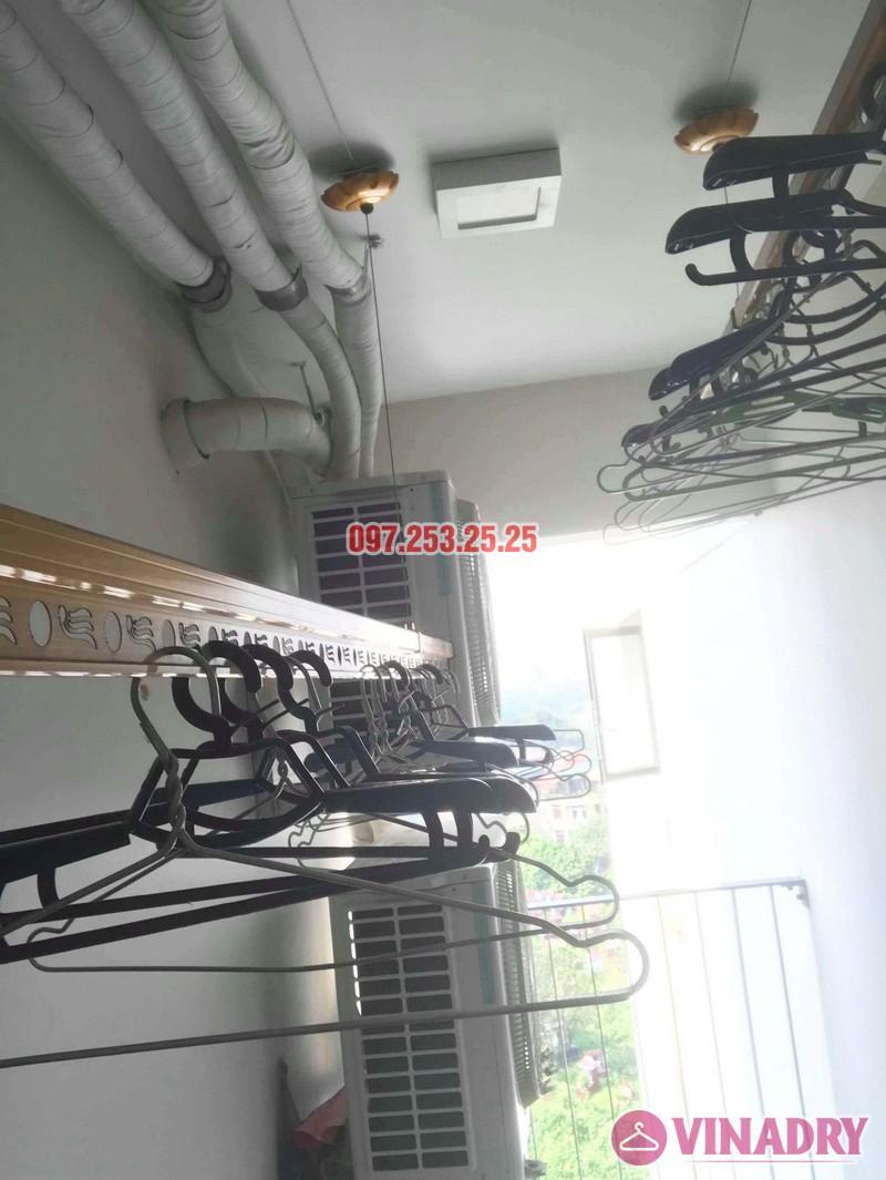 Sửa giàn phơi thông minh tại Hoàng Mai nhà anh Mạnh, chung cư 440 Vĩnh Hưng - 02