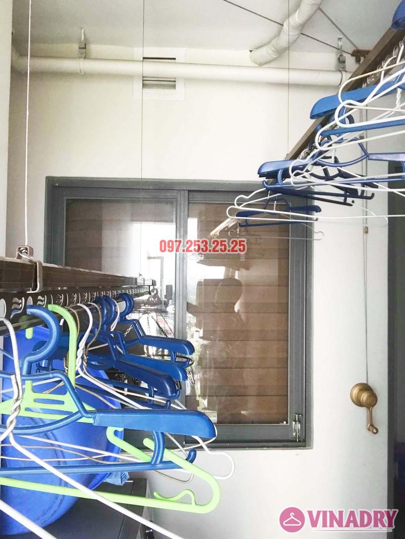 Sửa giàn phơi thông minh tại Hoàng Mai nhà anh Mạnh, chung cư 440 Vĩnh Hưng - 03