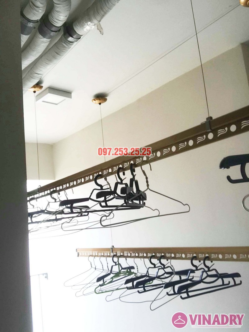 Sửa giàn phơi thông minh tại Hoàng Mai nhà anh Mạnh, chung cư 440 Vĩnh Hưng - 05