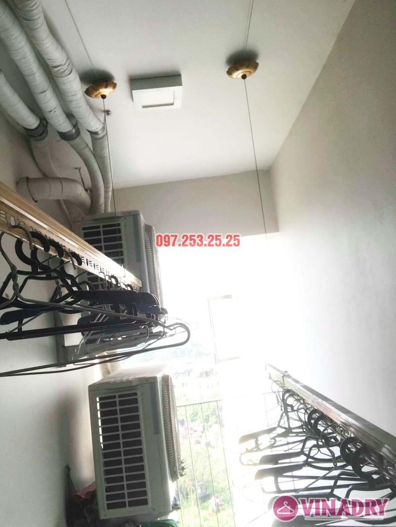 Sửa giàn phơi thông minh tại Hoàng Mai nhà anh Mạnh, chung cư 440 Vĩnh Hưng - 07