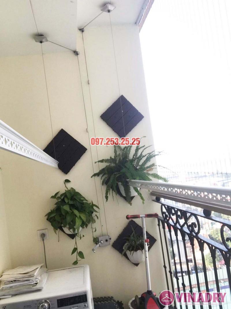 Sửa giàn phơi quần áo tại chung cư Hòa Bình Green nhà chị Mai - 03