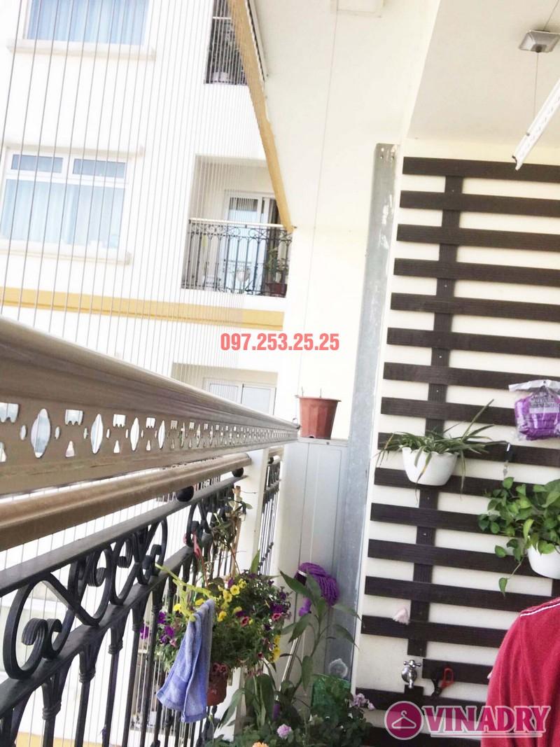 Sửa giàn phơi quần áo tại chung cư Hòa Bình Green nhà chị Mai - 06