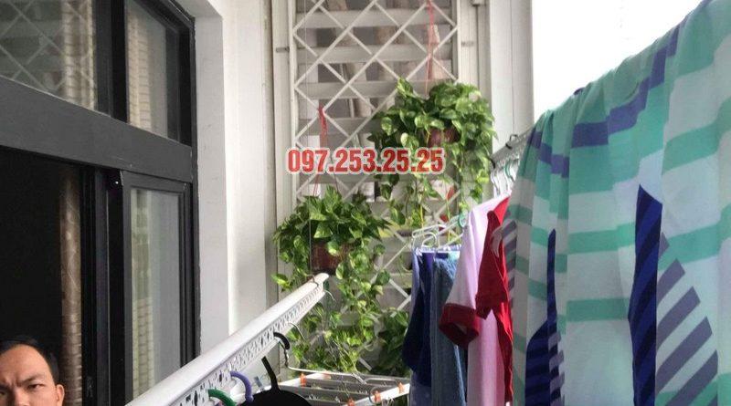 Sửa giàn phơi thông minh tại Roycity nhà anh Tú, Tòa R4 - 02