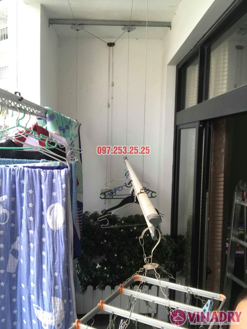 Sửa giàn phơi thông minh tại Roycity nhà anh Tú, Tòa R4 - 03