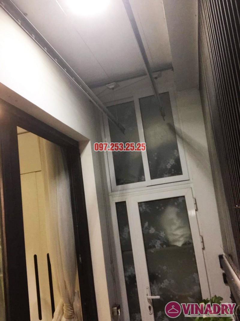 Sửa giàn phơi bị đứt dây cáp tại Times City nhà chị Nhài - 01