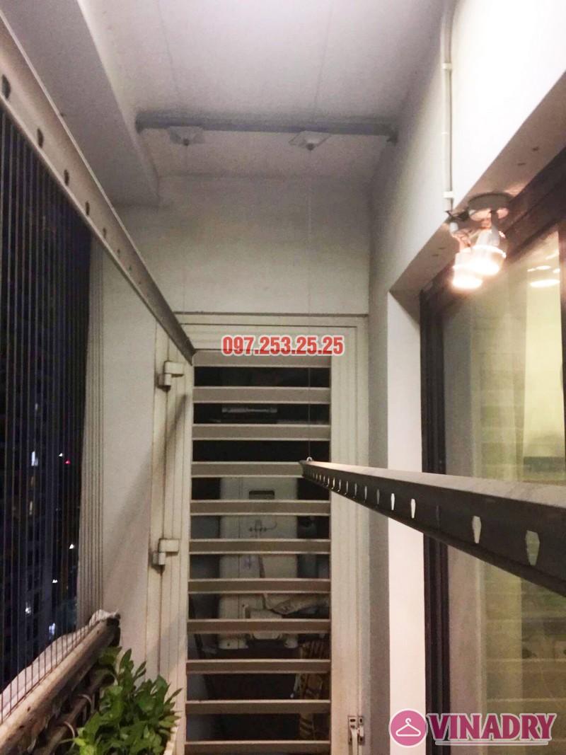 Sửa giàn phơi bị đứt dây cáp tại Times City nhà chị Nhài - 02