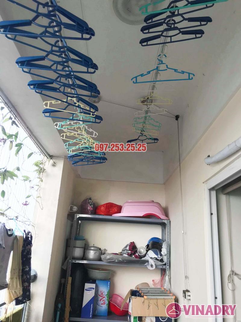 Sửa giàn phơi giá rẻ tại Hoàng Mai Hà Nội nhà chị Hân, chung cư Nam Đô Complex - 01