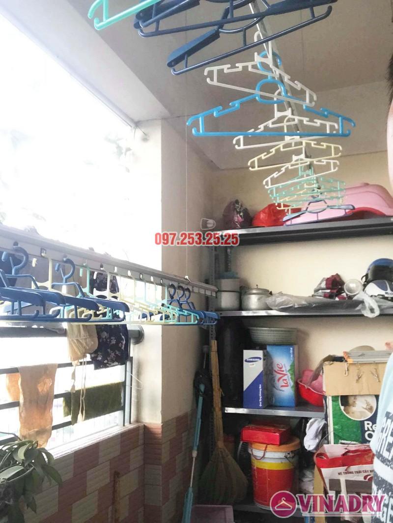 Sửa giàn phơi giá rẻ tại Hoàng Mai Hà Nội nhà chị Hân, chung cư Nam Đô Complex - 03