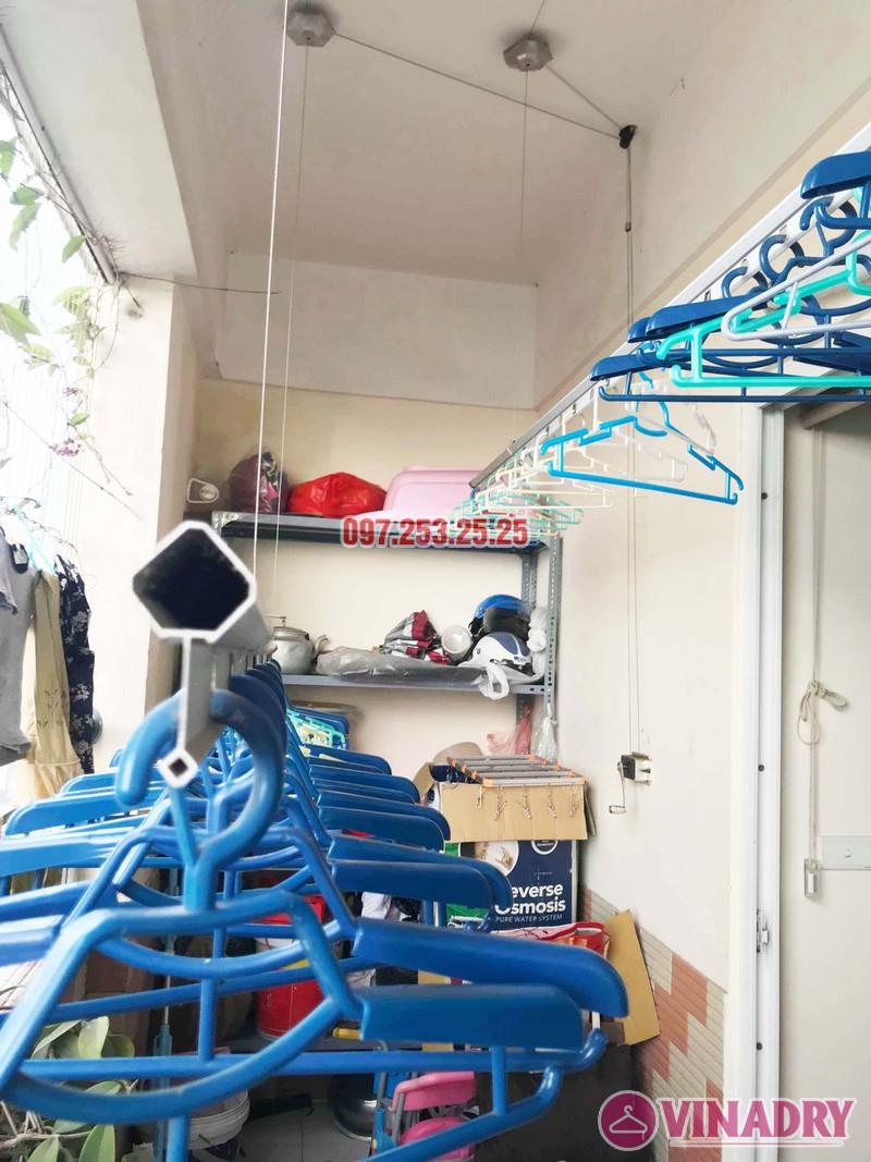 Sửa giàn phơi giá rẻ tại Hoàng Mai Hà Nội nhà chị Hân, chung cư Nam Đô Complex - 04